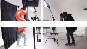 led lighting in studio photography